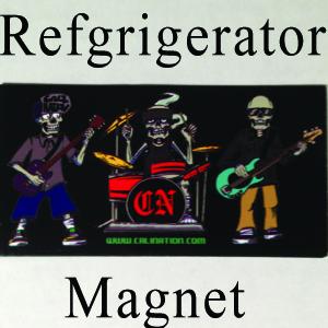 Cali (Skele Nation) Nation Refrigerator Magnet